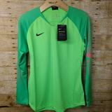 Nike Tops | Nike Green Soccer Goalie Jersey Womens 80$ Tags | Color: Green | Size: Various