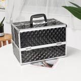 Rebrilliant Jewelry Train Holder Cosmetic Organizer Metal in Black, Size 9.5 H x 13.37 W x 8.63 D in   Wayfair 0BE37434C7A34BD69C7A2BE49527E1F4
