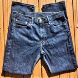 Levi's Jeans | Levi'S 513s Mens Vintage Blue Denim Jeans | Color: Blue | Size: 34