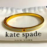 Kate Spade Jewelry | Kate Spade White Enamel Bracelet | Color: White | Size: Os