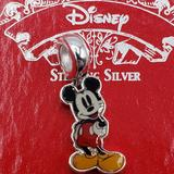 Disney Jewelry | Disney'S Mickey Mouse Sterling Silver Charm | Color: Silver | Size: Os