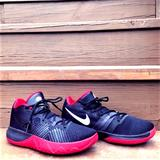Nike Shoes | Nike Zoom Kyrie Basketball Shoes Black Red White | Color: Black/Red | Size: 8