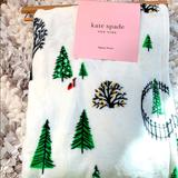 Kate Spade Holiday | Kate Spade Christmas Throw | Color: Red | Size: Os