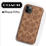 Coach Accessories | Coach Slim Logo Tan Wrap Iphone 11 Pro Case | Color: Tan | Size: Iphone 11 Pro