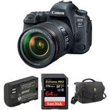 Canon EOS 6D Mark II DSLR Camera with 24-105mm f/4L II Lens and Accessory Kit 1897C009 KIT