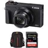 Canon PowerShot G5X Mark II Digital Camera with Accessories Kit 3070C001