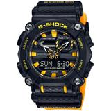 Analog-digital Yellow Resin Strap Watch 49.5mm - Black - G-Shock Watches