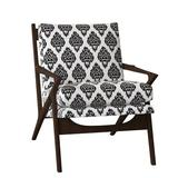 """Duralee Furniture Holloway 39.75"""" Wide Down Cushion Slipcovered Armchair Faux Leather/Chenille/Polyester/Polyester blend/Cotton/Cotton Blend/Velvet/Other Performance Fabrics"""