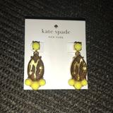 Kate Spade Jewelry   Kate Spade Earrings   Color: Yellow   Size: Os