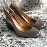 Nine West Shoes   Nine West Gray Closed Toe Slingback Pumps Size 5   Color: Gray   Size: 5