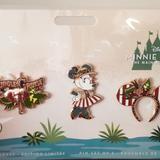 Disney Accessories   Mmma November Jungle Cruise Pin Set -   Color: Green/Yellow   Size: Os
