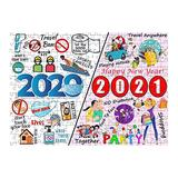 Usdian 1000 Piece Puzzles for Adults 2020,1000Pcs 2020 Puzzles for Adults Teens Jigsaw Puzzles Fun Large Puzzle Game, Challenge Puzzle Gift