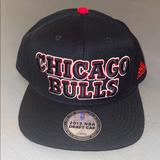 Adidas Accessories | Chicago Bulls Adidas 2013 Nba Draft Cap Snapback | Color: Black/Red | Size: One Size - Snapback