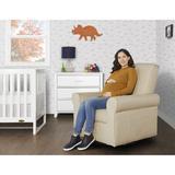 Evolur Swivel Glider Chair, Size 37.0 H x 31.0 W x 34.0 D in | Wayfair 811048037695