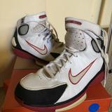 Nike Shoes   Nike Air Huarache 2k4 Basketball Shoes   Color: Red/White   Size: 6b