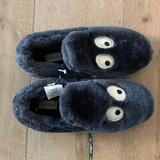 J. Crew Shoes   Cute & Cozy J Crew Eye Slippers   Color: Gray   Size: 6