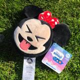 Disney Toys | Disney Emoji Blitz Plush Stitch Nwt | Color: Black/Red | Size: Os
