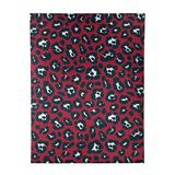 East Urban Home Animal Print Red/Black/White Area Rug Polyester in Black/Red, Size Rectangle 8' x 10'   Wayfair E1DEB4ADD9614EE3B44404B9F1566754