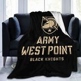 VenAZ West Point Military Academy West Point Academy Logo Ultra Soft Micro Fleece Blanket Throw Blanket Lightweight Rug for Home