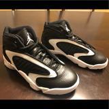 Nike Shoes | New Nike Air Jordan Og Black Toe Sneaker | Color: Black/White | Size: 6.5