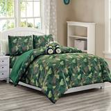 Redwood Rover 4 Piece Toddler Bedding Set Polyester in Brown/Green, Size Full | Wayfair 6C50210DBC9E413BA17ADF170CA3FAF0