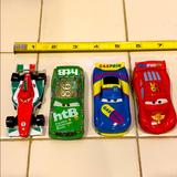 Disney Toys | Disney Set Car Toy In Good Condition | Color: Blue/Green | Size: One