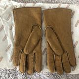 Coach Accessories | Coach Suede Shearling Gloves (L) | Color: Tan | Size: L