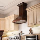 ZLINE Kitchen and Bath ZLINE Range Hood Chimney Extension for up to 12.5' Ceilings, Size 72.0 H x 9.0 W x 8.0 D in   Wayfair KBUF-E