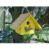 Bird Houses by Mark Chateau Wren Bird House, Yellow