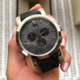 Burberry Accessories   Burberry Mens Watch   Color: Black/Gray   Size: Os