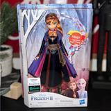 Disney Toys | New! Disney Frozen 2 Singing Anna Doll. | Color: Purple | Size: Osg