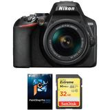 Nikon D3500 DSLR Camera with 18-55mm Lens and Accessories Kit 1590