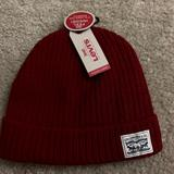Levi's Accessories   Levi'S Classic Warm Winter Knit Beanie Hat   Color: Red   Size: Os