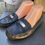 Coach Shoes | Coach Frederics Black Leather Loafer Shoes Sz. 8.5 | Color: Black | Size: 8.5