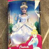 Disney Other | Cinderella Disney Princess Collectible | Color: Silver | Size: Almost 1 Foot