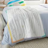 Isabelle & Max™ Riehlin 100% Cotton Throw Cotton in White, Size 48.0 H x 36.0 W in   Wayfair 7F05CE7F664846A8908A5D0040BC0BDB