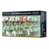 WarLord Black Powder Spanish Infantry 2nd & 3rd Battalion 1805-1811 19th Century Military Wargaming Plastic Model Kit 302411502