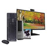 "Dell 9020 PC Desktop Computer, i5-4570, 16GB RAM, 512GB SSD, Windows 10 Pro, New 23.6"" Monitor, New 1080p Periphio Webcam, New Periphio Wireless Keyboard & Mouse, New 16GB Flash Drive, WiFi (Renewed)"