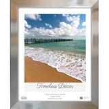 Timeless Frames Stainless Picture Frame Plastic in Gray, Size 12.0 H x 10.0 W x 0.75 D in | Wayfair 78181