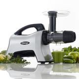 Omega Juicers Omega NC1000HDS 200W Juicer Extractor & Nutrition System, Silver in Gray, Size 12.6 H x 6.11 W x 18.9 D in | Wayfair