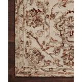 Charlton Home® Engli Floral Hand Hooked Wool Cream/Area RugWool in Brown, Size 60.0 H x 60.0 W x 0.5 D in   Wayfair
