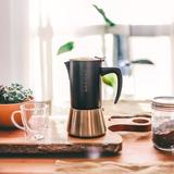 Grosche Milano Espresso Maker in Gray, Size 4.3 H x 5.5 W x 8.6 D in | Wayfair GR 407