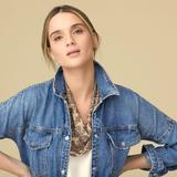 Dakota Scarf Necklace Nude / Gunmetal - Natural - Mignonne Gavigan Scarves