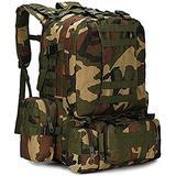 Military Rucksack,Carry on Bag Massive Water Resistant School Rucksack,Tactical Backpack Military Rucksack Unisex JUNCAN (Color : B)