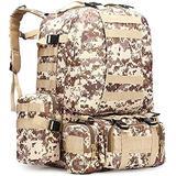 Military Rucksack,Carry on Bag Massive Water Resistant School Rucksack,Tactical Backpack Military Rucksack Unisex JUNCAN (Color : E)