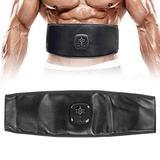 TMISHION Abdominal Muscle Belt, Fitness Belt for Bodybuilding, Heating Waist Belt Abdominal Muscle Training Body Shaping Fitness Waist Trainer Belt for Bodybuilding Abdominal Training