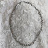 Brandy Melville Jewelry   Metal Chain Choker   Color: Silver   Size: Choker