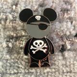 Disney Accessories | Disney Pirate Pin | Color: Black/Gray | Size: Os