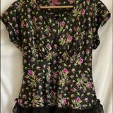 Victoria's Secret Intimates & Sleepwear | Betsy Johnson X Victorias Secret Pajama Set! | Color: Black/Pink | Size: S