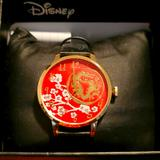 Disney Accessories   Disney Mulan Dragon Red Watch   Color: Black/Red   Size: Os
